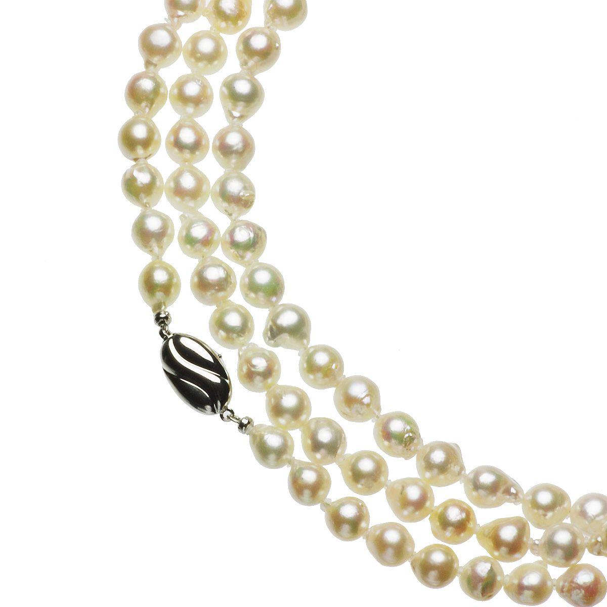 アコヤ真珠ロングネックレス 約7.5-8.0mmの写真