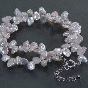 淡水真珠オリジナルデザインネックレス 約7.0mmUPの写真