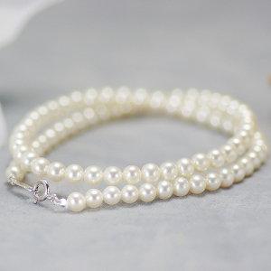 高級淡水真珠フォーマルネックレス 約5.0-5.5mmの写真