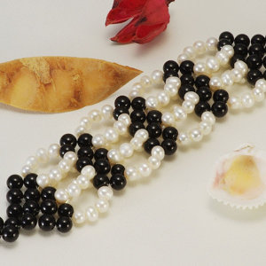 淡水真珠ブレスレット 約5.0-5.5mmの写真
