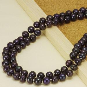 淡水真珠ロングネックレス 約8.5-9.0mmの写真