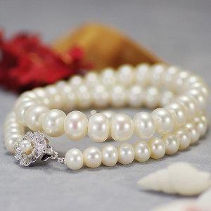 淡水真珠フォーマルセット 約7.0-10.0mmの写真