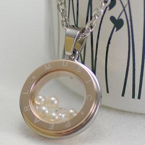 淡水真珠ペンダント 約3.5mm×5pcsの写真