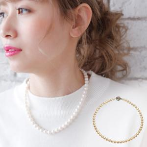 アコヤ 真珠 パールネックレス 約7.5-8.0の写真