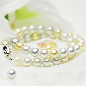 アコヤ真珠 パール フォーマル ネックレスセット 約9.0-9.5mmの写真