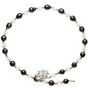 タヒチ黒蝶真珠オリジナルデザインネックレス 約9~11mmの写真