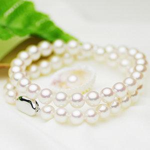 アコヤ 花珠 真珠 フォーマル セット 約8.0-8.5mmの写真