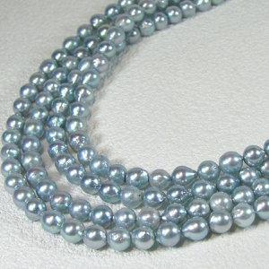アコヤ真珠ロングネックレス 約5.5-6.0mmの写真