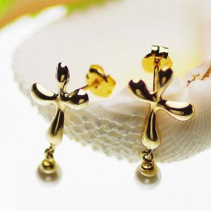 アコヤ真珠ピアス 約3.5mmの写真