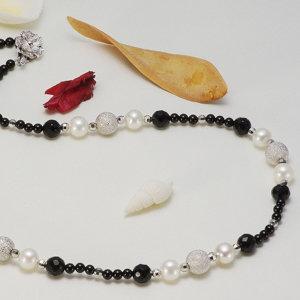 淡水真珠オリジナルデザインネックレス 約8.5mmの写真