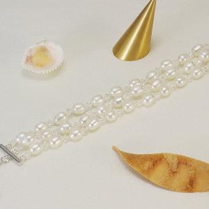 淡水真珠ブレスレット 約6.0-7.0mmの写真