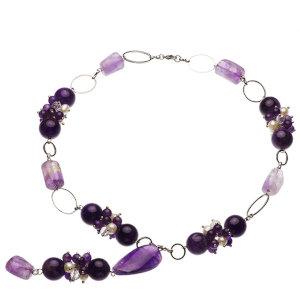 淡水真珠オリジナルデザインネックレス 約5.5-6mmの写真