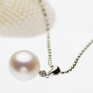 高級淡水真珠ペンダント 約11.2mmの写真