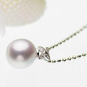 高級淡水真珠ペンダント 約10.9mmの写真