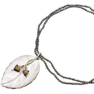淡水真珠オリジナルデザインネックレス 約3mmの写真