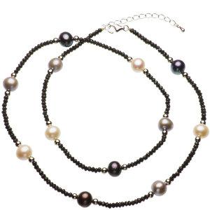 淡水真珠オリジナルデザインネックレス 約9mmの写真