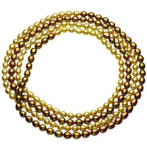 淡水真珠ロングネックレス 約7.0-7.5mmの写真