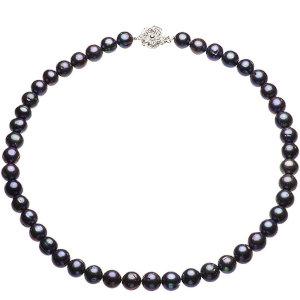 淡水真珠オリジナルデザインネックレス 約9.0-10.5mmの写真