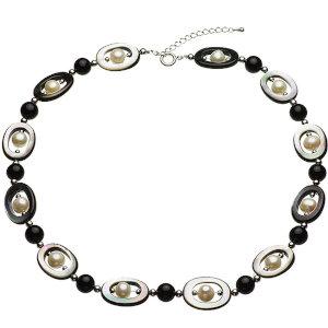 淡水真珠オリジナルデザインネックレス 約8.5-9.5mmの写真
