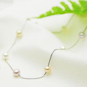 淡水真珠オリジナルデザインネックレス 約6.0-6.5mmの写真
