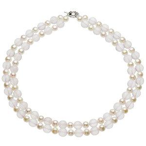 淡水真珠オリジナルデザインネックレス 約8.0-8.5mmの写真