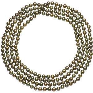 淡水真珠ロングネックレス 約6-6.5mmの写真