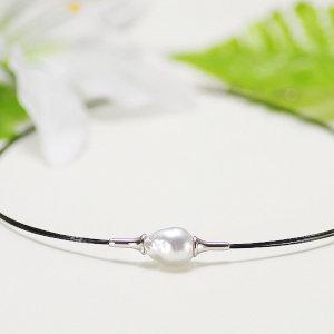 南洋白蝶真珠オリジナルデザインネックレス 約10.8mmの写真