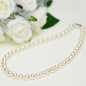 アコヤ花珠真珠フォーマルネックレス 約9.0-9.5mmの写真