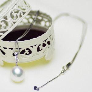 南洋白蝶真珠パールペンダント11.8mm ホワイトゴールド K18WGの写真