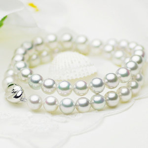 アコヤ真多麻真珠フォーマルネックレス 約8.5-9.0mmの写真