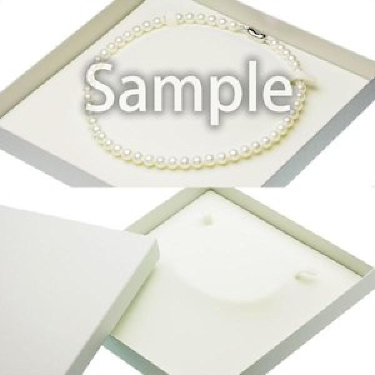 高級 淡水真珠 ピアス ネックレス セット 約7.0-7.5mmの写真