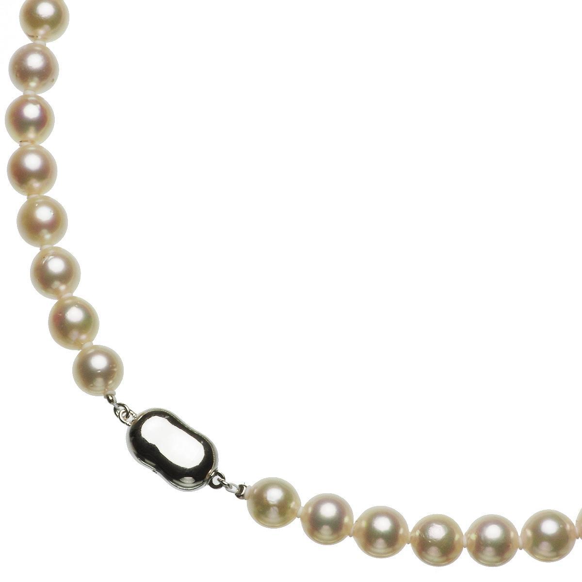 アコヤ 厚巻き 高品質 真珠 パール ピアス ネックレス セット 約8.0-8.5mmの写真
