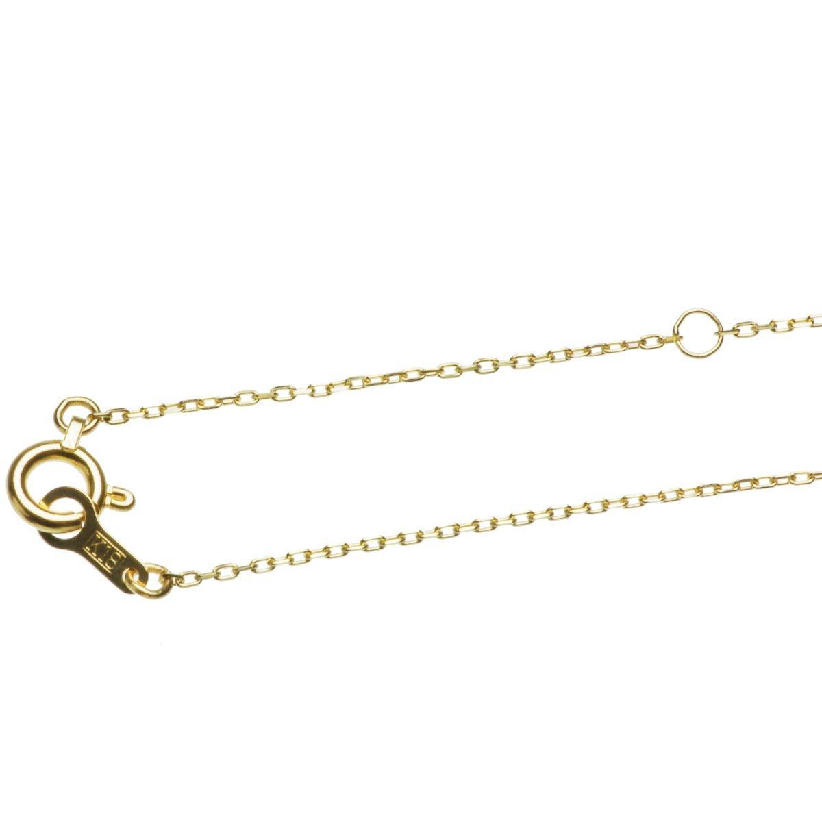 18金 イエローゴールド あこや 本真珠 一粒 パール シンプル ペンダントの写真