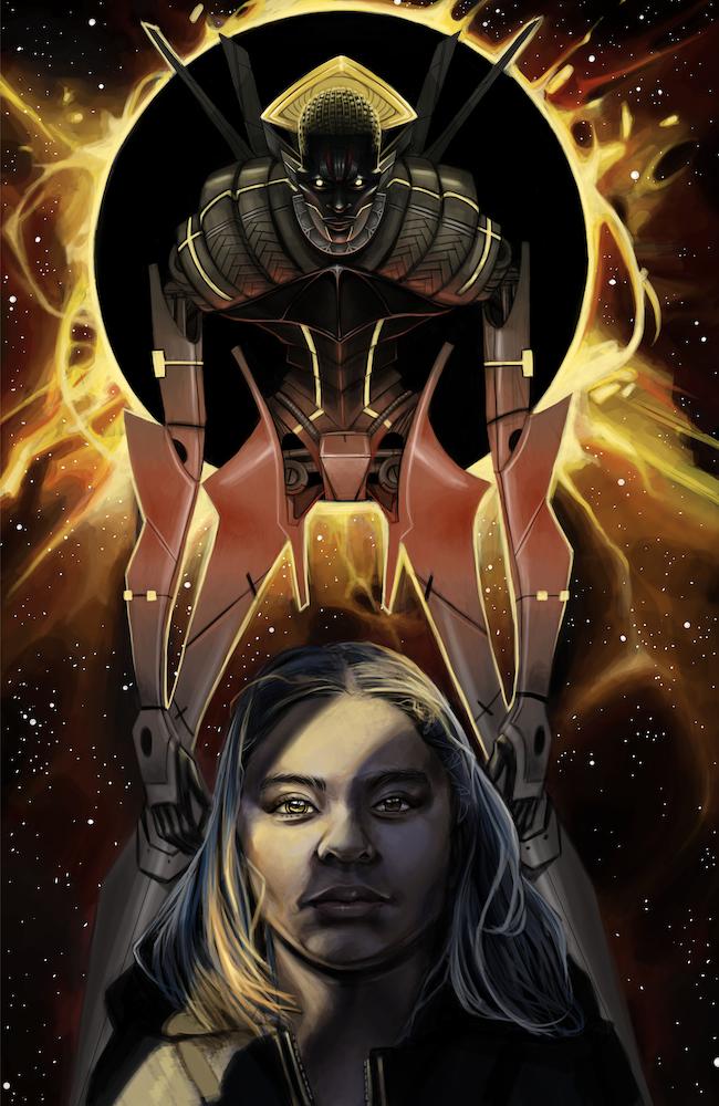 Kandace and the Robot God Image