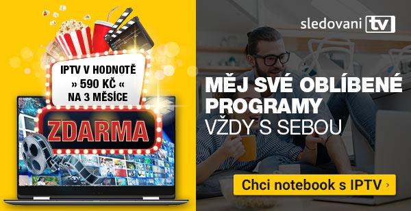 Noteboooky s IPTV zdarma