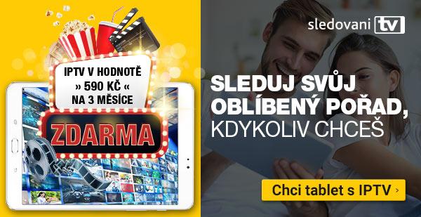 Tablety s IPTV zdarma