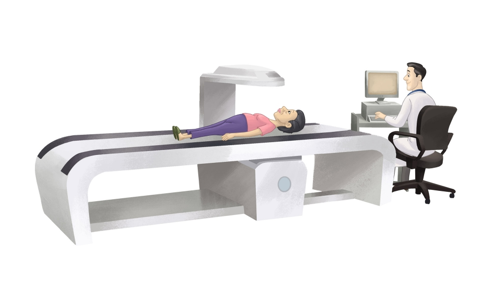 Diagnosis of osteoporosis, imaging for osteoporosis.