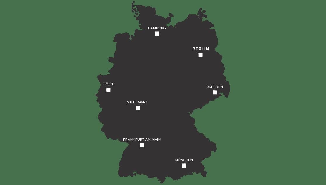 Points de vente Percko en Allemagne