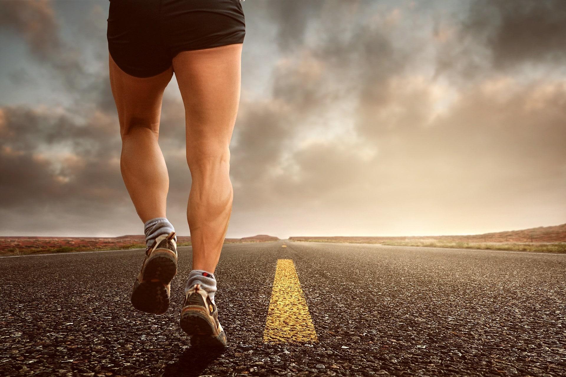 courir est bon pour le dos