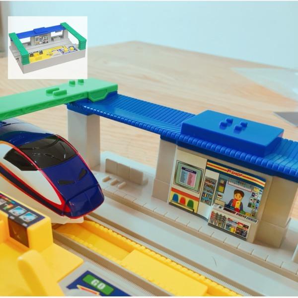 Amazon | プラレール J-13 サウンド駅 | 情景部品 | おもちゃ