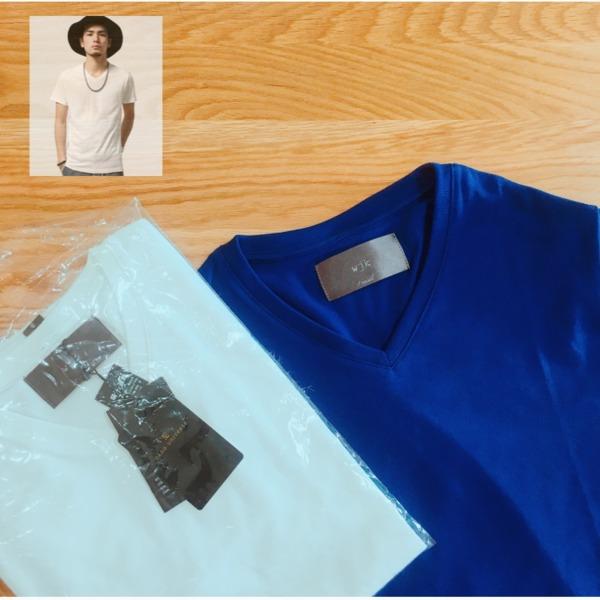 【セール】wjk 1mile/ 別注 V Neck Tee SS(Tシャツ/カットソー)|wjk 1 mile(ダブルジェイケイワンマイル)のファッション通販 - ZOZOTOWN
