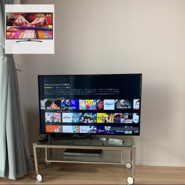 Amazon.co.jp: LG 50V型 液晶 テレビ 50UK6400EJC 4K HDR対応 直下型LED VAパネル 2018年モデル: 家電・カメラ