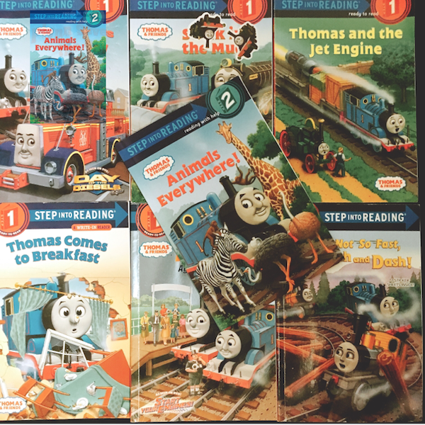 Amazon | Animals Everywhere! (Thomas & Friends) (Step into Reading) | Rev. W. Awdry, Richard Courtney | Animals