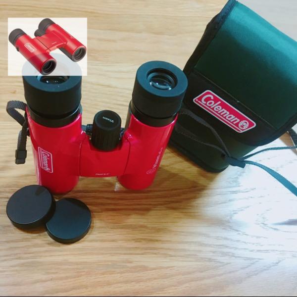 Amazon.co.jp: Vixen&Coleman 双眼鏡 コールマンシリーズ コールマンH8×25 レッド 14582-9: カメラ