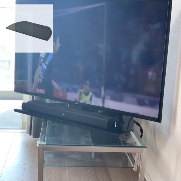 Amazon.co.jp: 山善(YAMAZEN) テレビ回転台(幅60) シャイニーブラック GKE-600(SBK): ホーム&キッチン