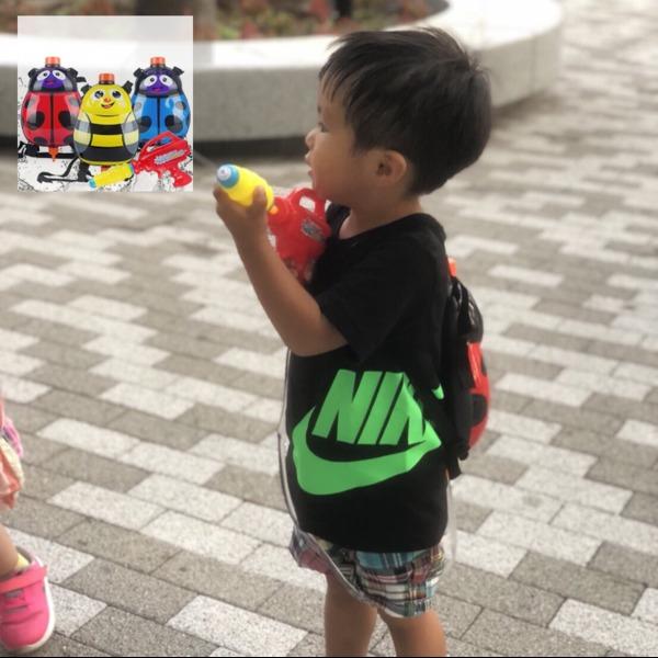 Amazon | moiitee 水鉄砲 水ピストル ウォーターガン アクアバズーカ おもちゃ 色を選択不可 | 水鉄砲 | おもちゃ