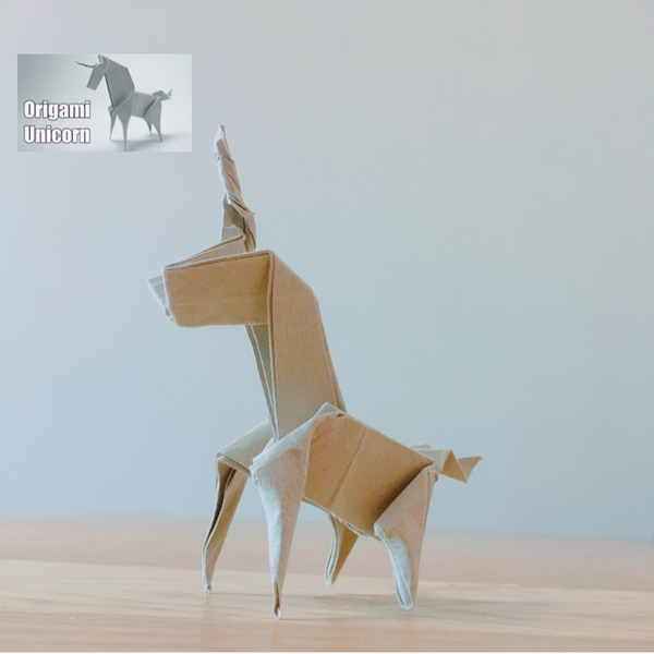 YouTube Origami Unicorn (Jo Nakashima)