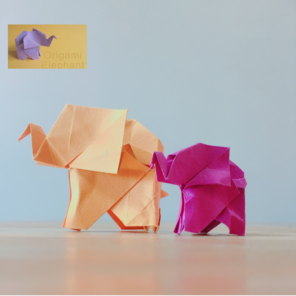 YouTube Origami Elephant :: Elefante de papel