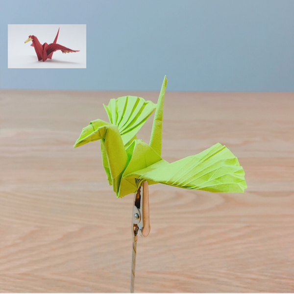 YouTube ORIGAMI FEATHERED CRANE (Jo Nakashima)