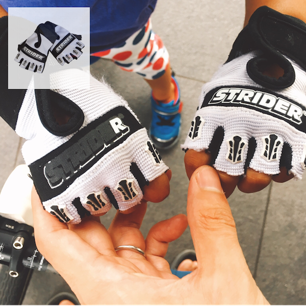Amazon | ストライダー ライダーズ フィンガーレスグローブ(スモール) | ペダルなし自転車 | おもちゃ